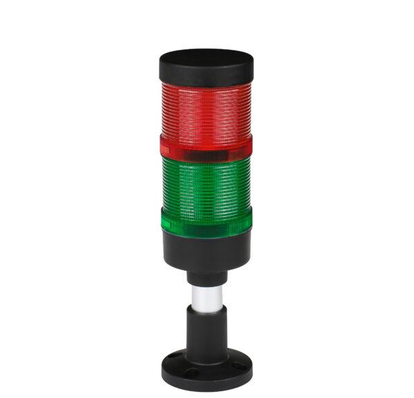 Kolumna sygnalizacyjna LED FL70 - moduły zielony czerwony + BUZZER